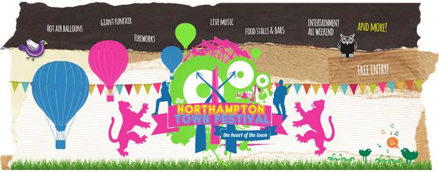 Northampton Town Festival: 1st-2nd July