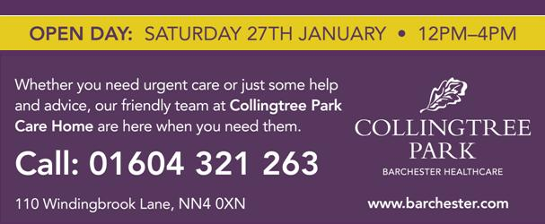 Collingtree Park Care Home: Open Day, 27th January