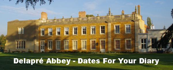 Delapre Abbey – Dates For Your Diary