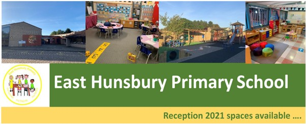 East Hunsbury Primary School: Reception 2021 Spaces Available